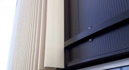 Aliuminiai fasadų dangteliai
